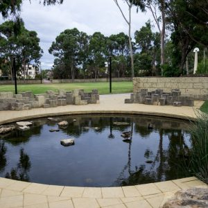 Lake in Joondalup